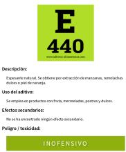 E440 PECTINA
